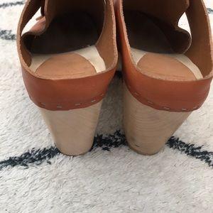 78b339a4935 Bryr Camilla Lace-Up Clog with Kilt, High Heel